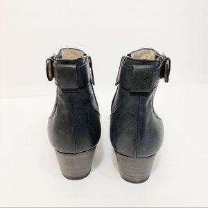 Aquatalia Shoes - Aquatalia Francie Weatherproof Perforated Bootie